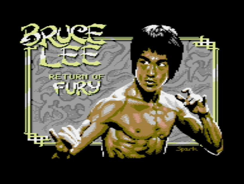 After 35 years, a new Bruce Lee game for the Commodore 64